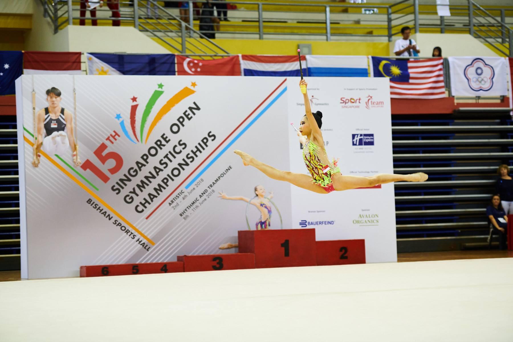 Singapore Gymnastics Open Championships 2018 12