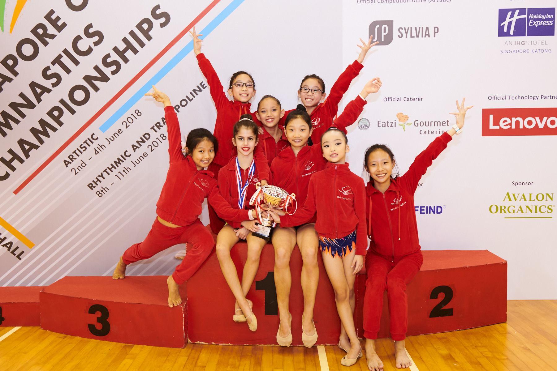 Singapore Gymnastics Open Championships 2018 37