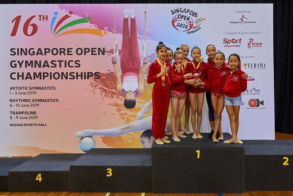 Singapore Gymnastics Open Championships 2019 12