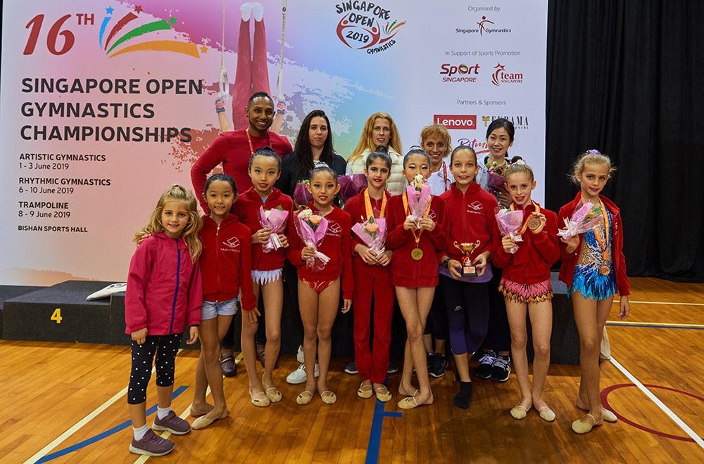 Singapore Gymnastics Open Championships 2019 18