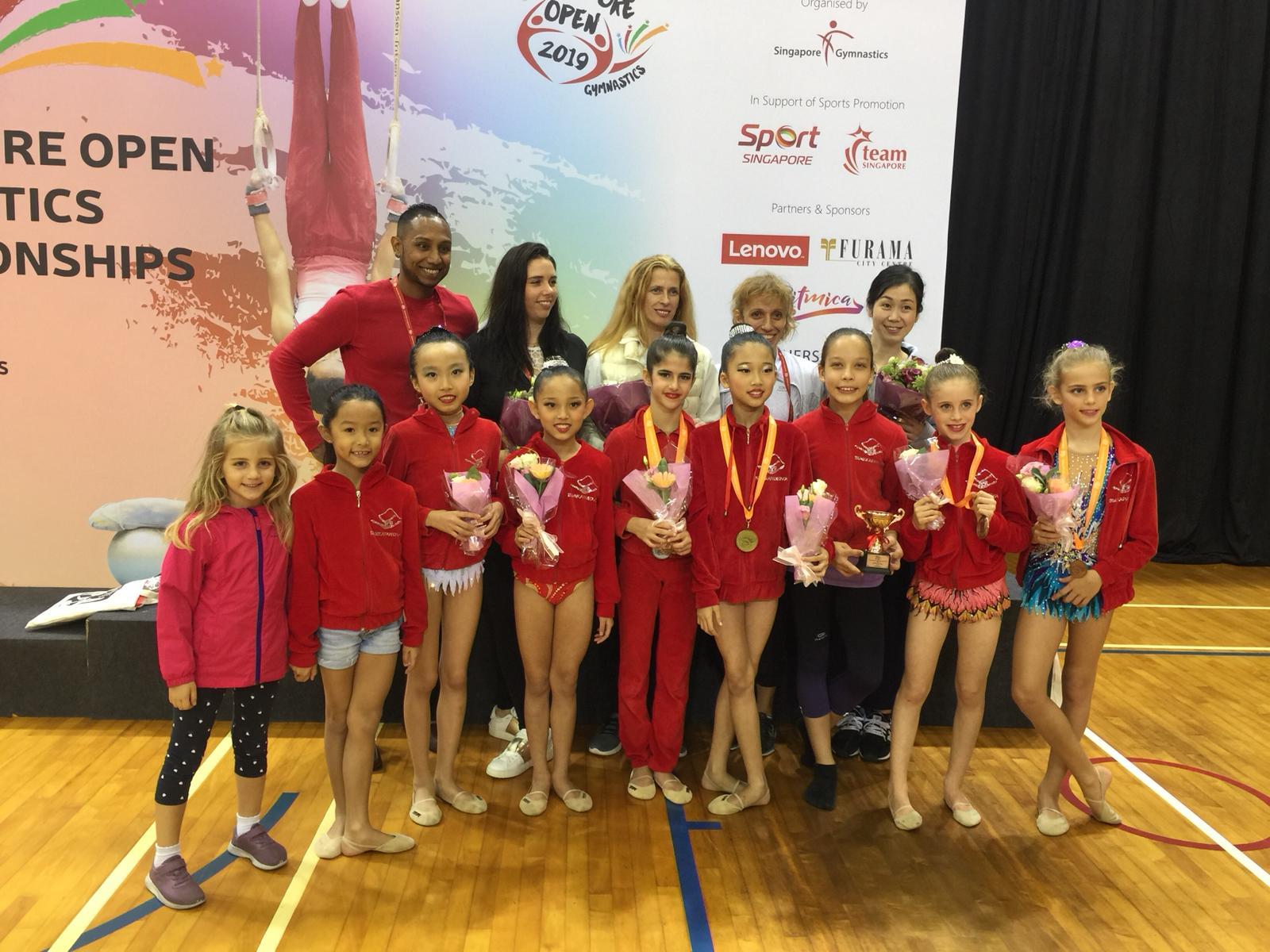 Singapore Gymnastics Open Championships 2019 29