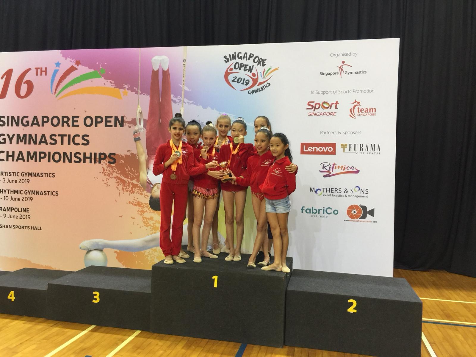 Singapore Gymnastics Open Championships 2019 46