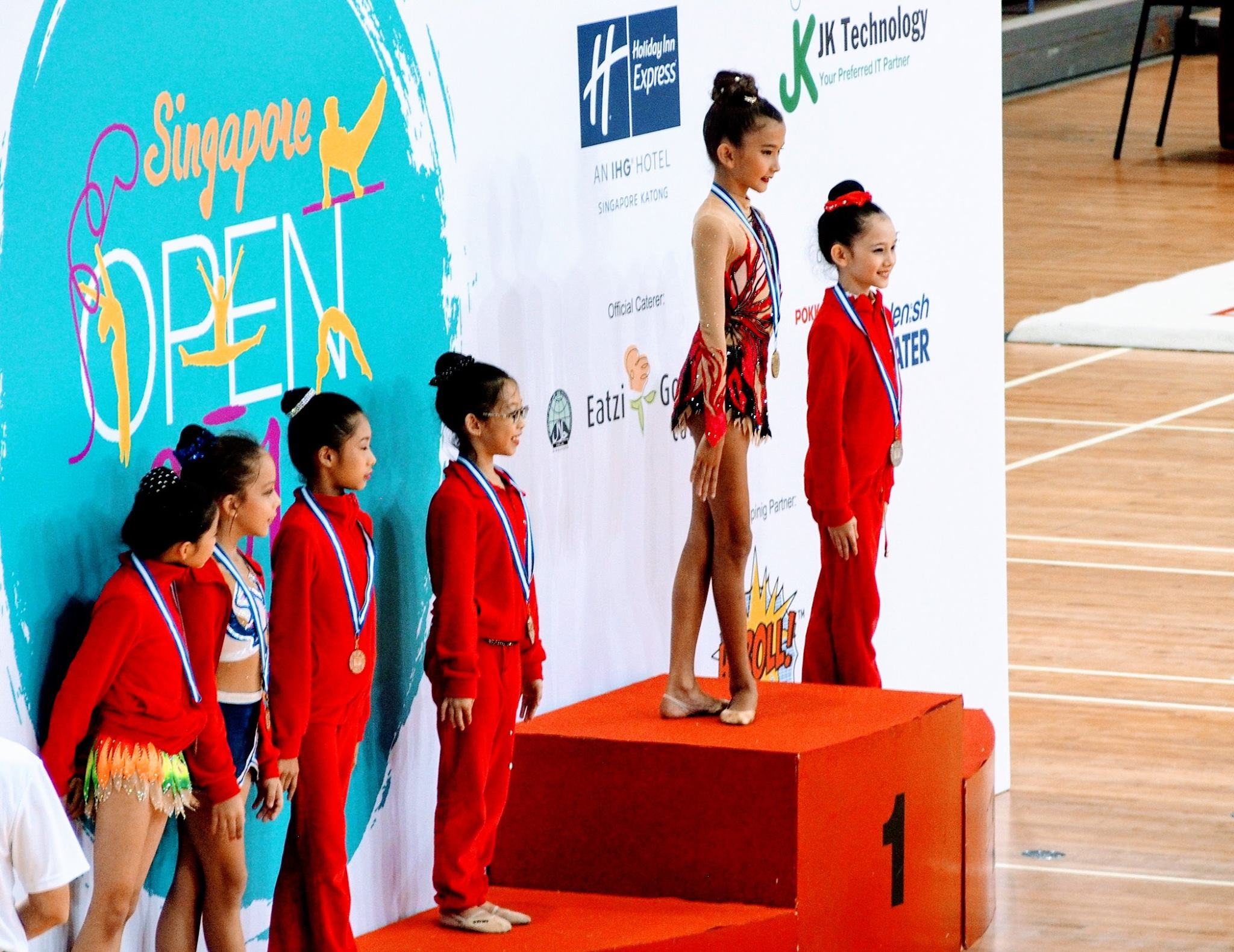 Singapore Gymnastics Open Local Event 2017 18