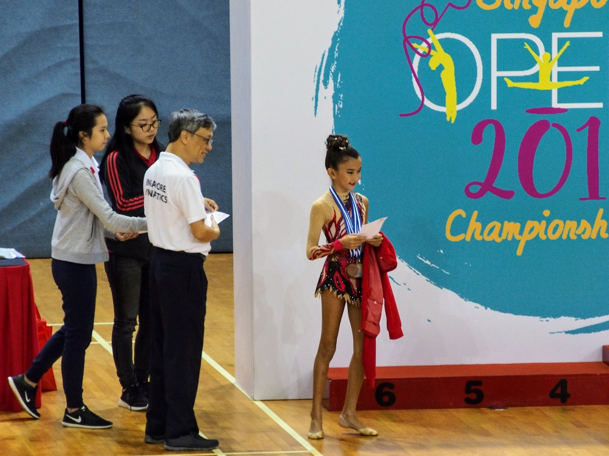 Singapore Gymnastics Open Local Event 2017 22